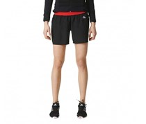 Adidas Women's 4'' Running Shorts, Black/Frayred