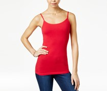 Planet Gold Juniors Scoop-Neck Tank Top, Chinese Red