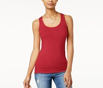 Planet Gold Juniors Racerback Tank Top, Chinese Red