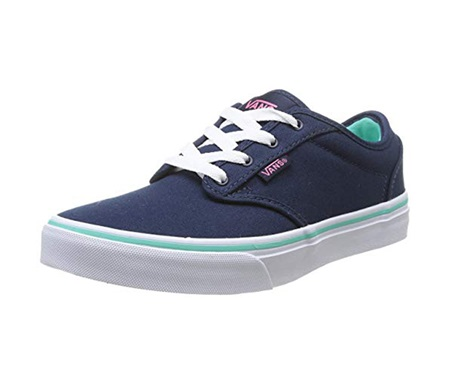 84930d1088 Shop Vans Vans Atwood Youth Girls Causal Canvas Shoes