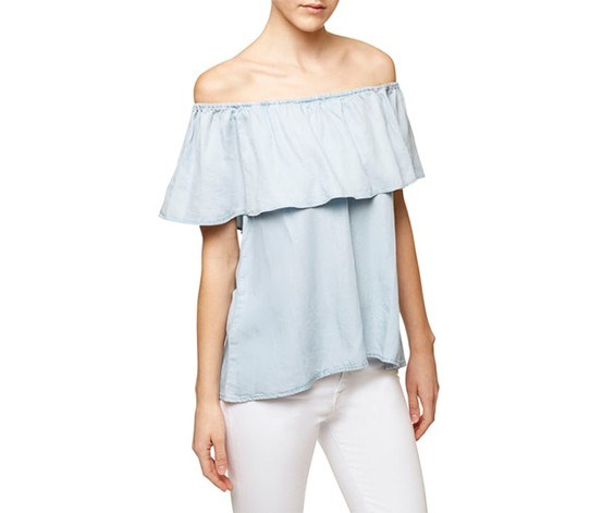 Misha Off-The-Shoulder Top, Sunbleach