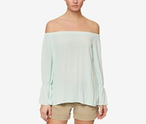 Sanctuary Women's Off-The-Shoulder Top, Mint Tea