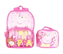 Peppa Pig Backpack & Lunch Bag, Pink