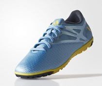 Adidas Messi 15.3 Soccer Shoes, Mettalic Ice /Bright Yellow