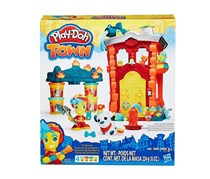 Play-Doh Town Firehouse, Red/Orange/Grey/Yellow