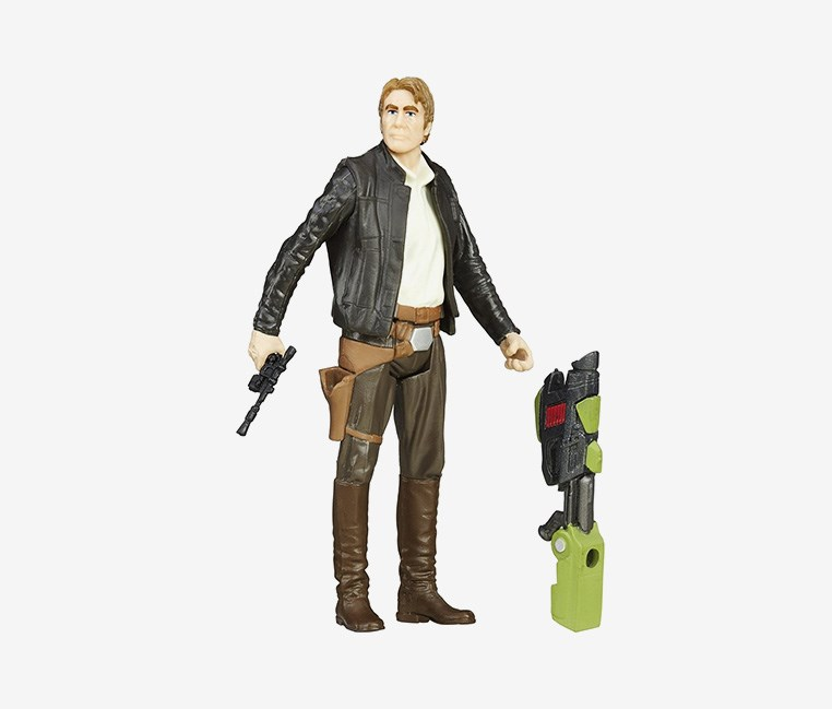 Star Wars The Force Awakens Jungle Mission Figure, Han Solo
