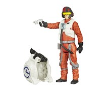 Star Wars The Force Awakens Figure Space Mission, Poe Dameron