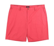 Nautica Men's Crimson Twill Shorts Bottoms, Red