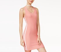 Derek Heart Racerback Bodycon Dress, Pink