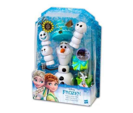 Hasbro Disney Frozen Fever Olaf, Blue