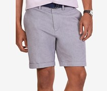 Nautica Men's Modern-Fit Oxford Shorts, True Navy