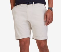 Nautica Mens Modern-Fit Oxford Shorts, Stone Pier