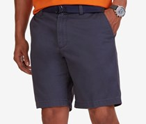 Nautica Flat Front Deck Shorts, Magnetic Gray