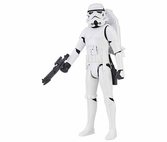 Interactech Imperial Stormtrooper Figure, White