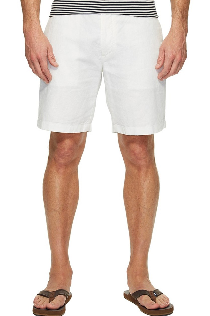 Mens Classic-Fit Shorts, Bright White