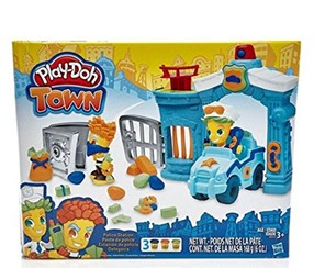 Play-Doh Town Police Station, Light Blue