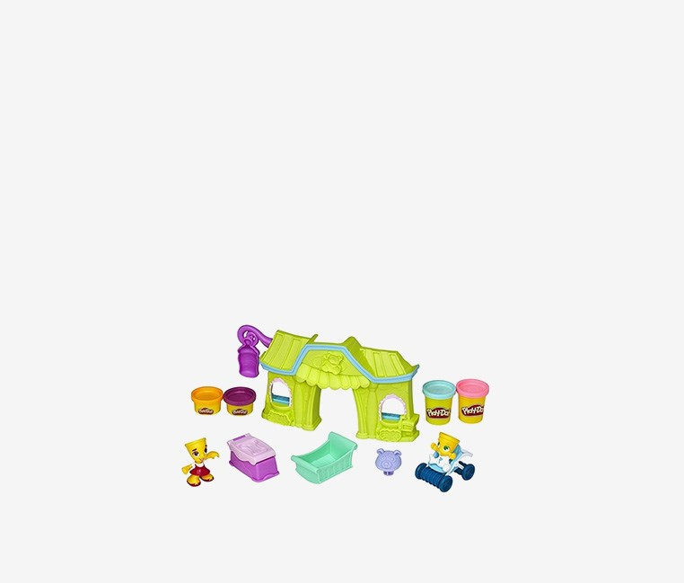 Town Baby Nursery, Light Green/Purple