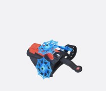 Marvel Spider-Man Spinning Web Launcher, Blue/Red/Black