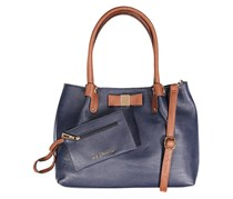 Kathy Ireland Shoulder Strap Satchel Bag, Navy