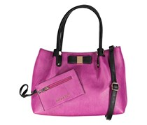 Kathy Ireland Shoulder Strap Satchel Bag, Berry