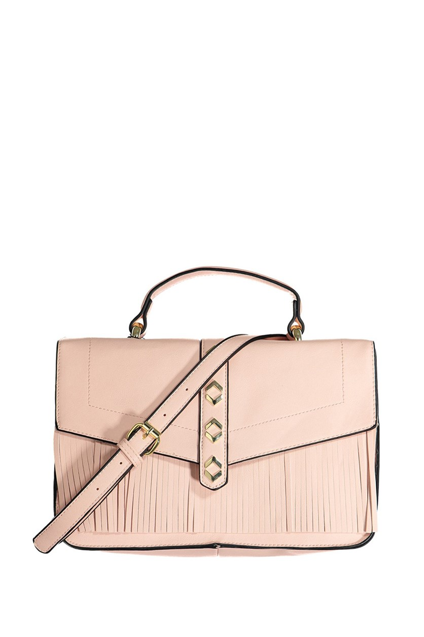 eneration Dylan Messenger Crossbody, Rose Smoke