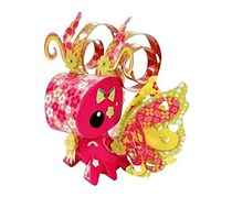 Mattel AmiGami Butterfly Figure and Die Punch Tool, Pink