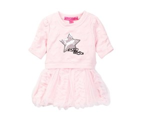 Betsey Johnson Toddlers Star Dress, Pink