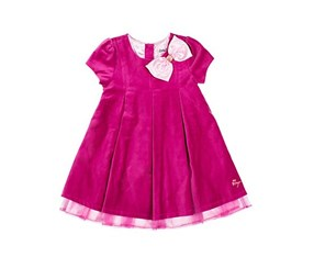 Betsey Johnson Little Girls Dress, Plum