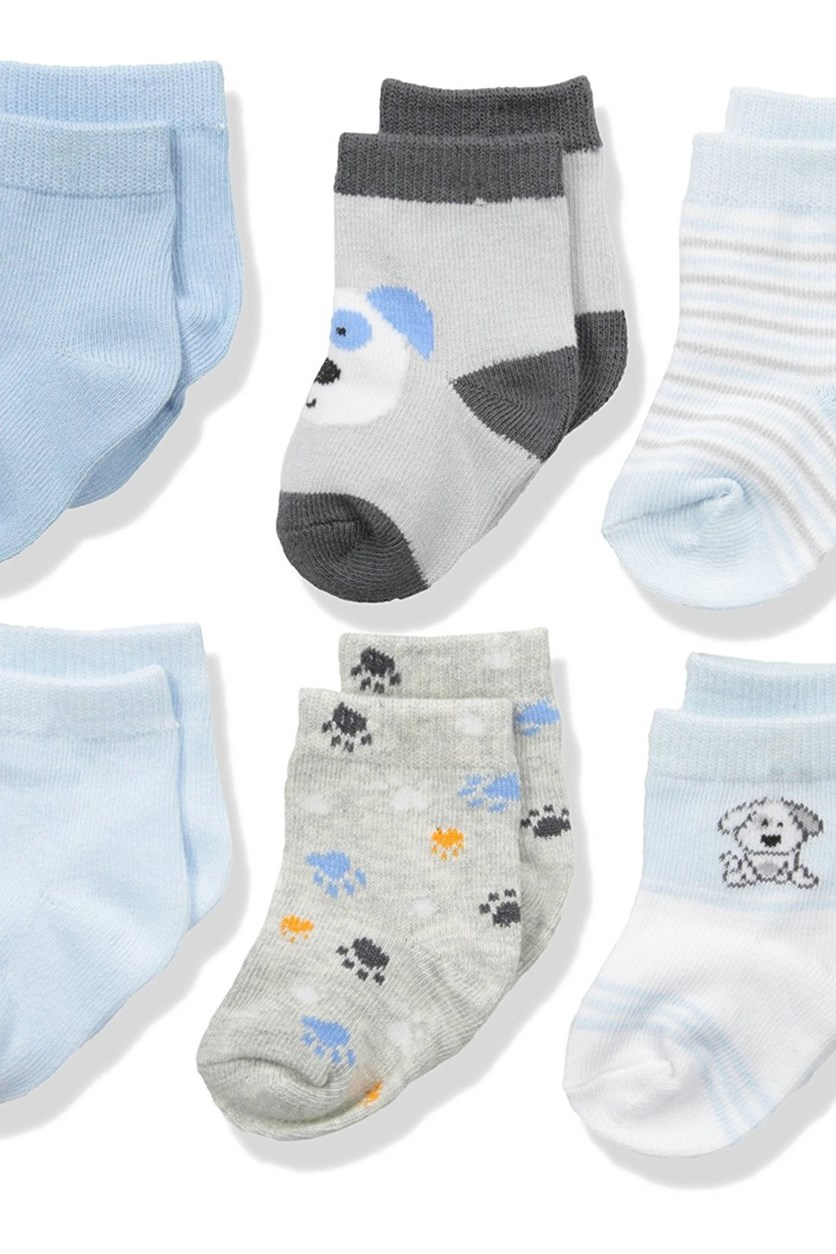 Baby Assorted 6 Pack Sock Set,Multi