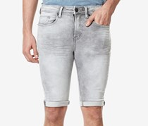 Mens Parker-X Skinny-Fit Short, Dark Sanded