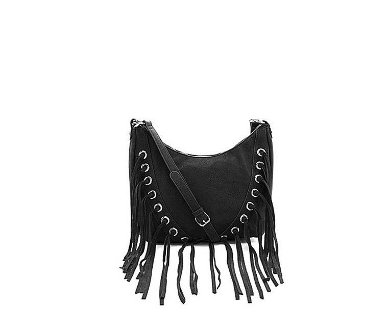 Bnorth Tassel Hobo Bag