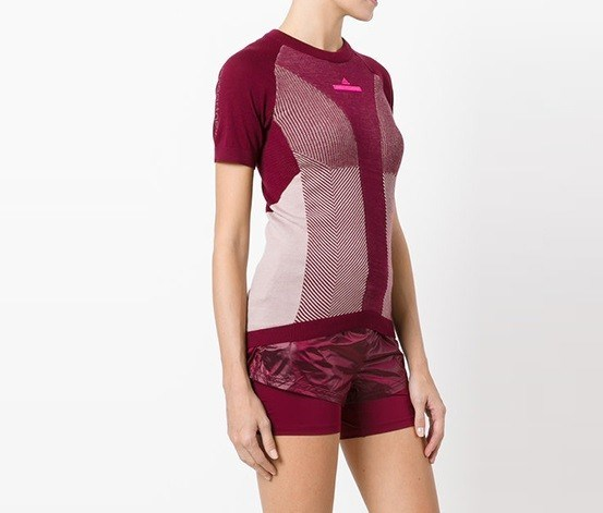 By Stella Mccartney Run Ultra T-shirt, Bordeaux