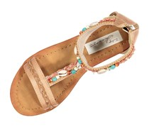 Vintage Havana Womens Bria Sandals, Blush