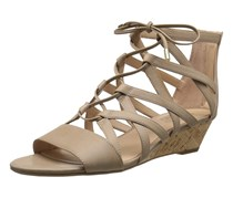 Franco Sarto Women's L-Brixie Wedge Sandal,Taupe