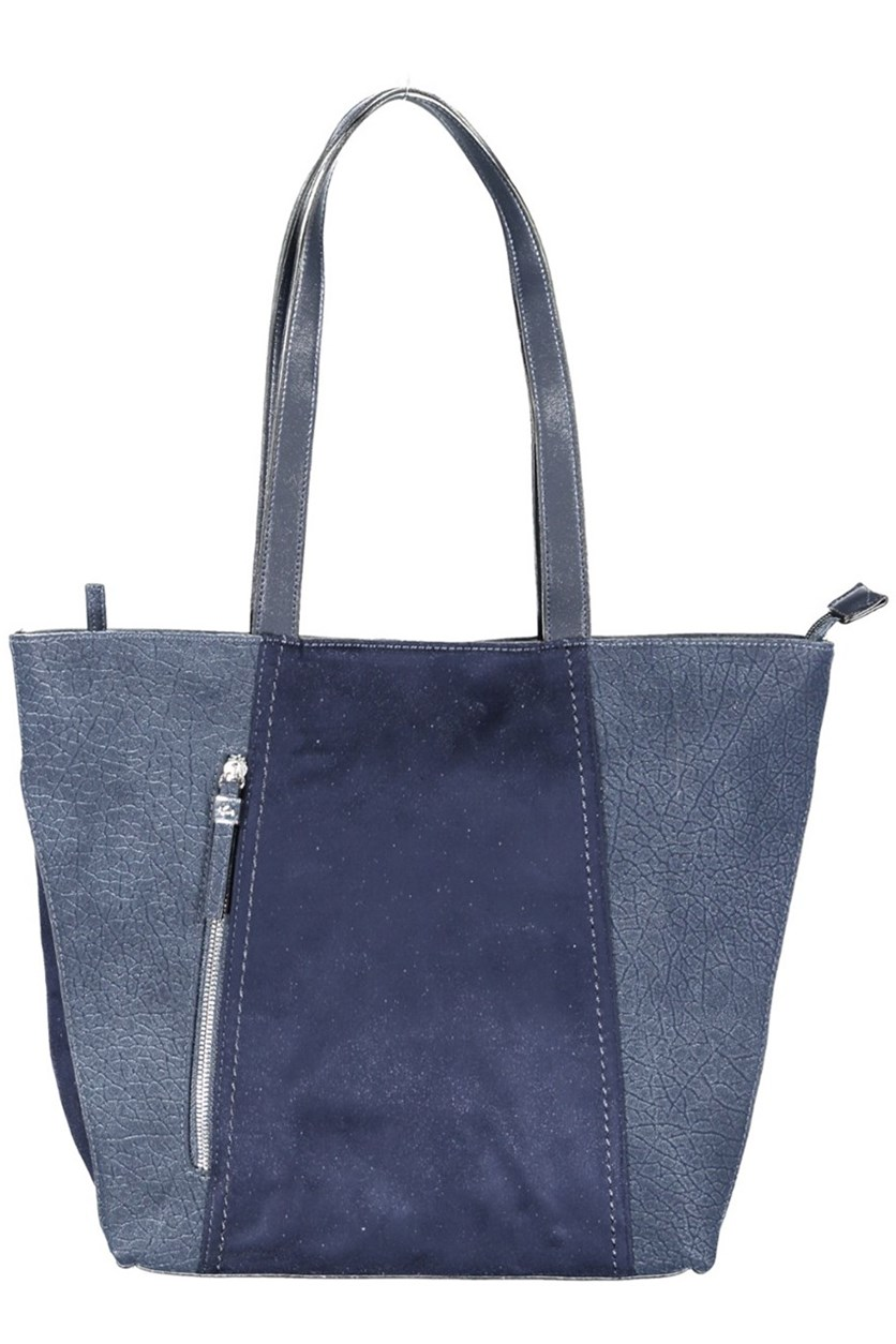 Women's Double Handle Totes Bag, Blue