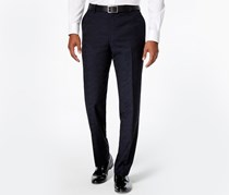 Bar III Men's Flat Front Slim Fit Dress Pants, Navy