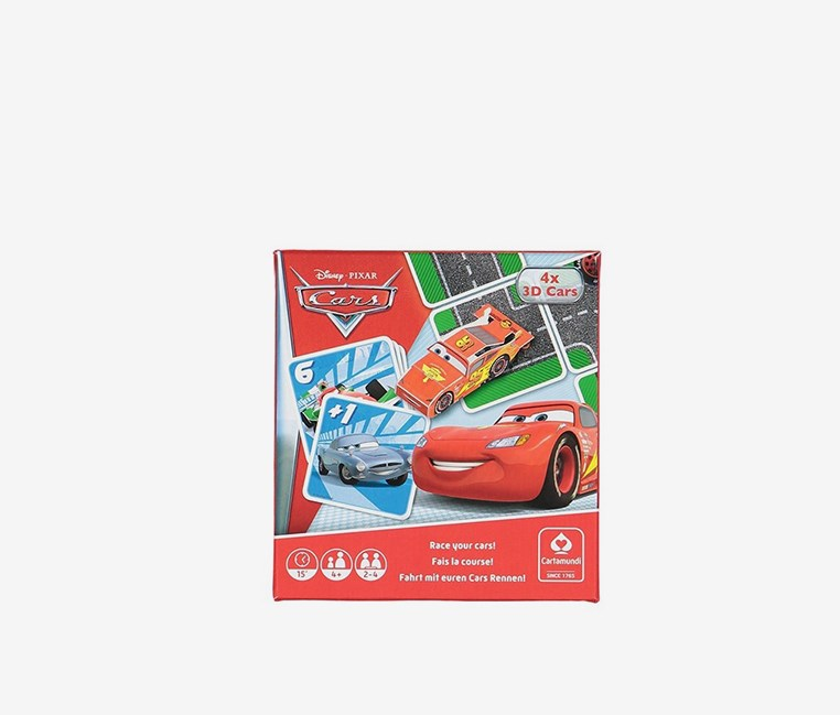 Cars Disney Pixar Cars Game Box Game Set, Red