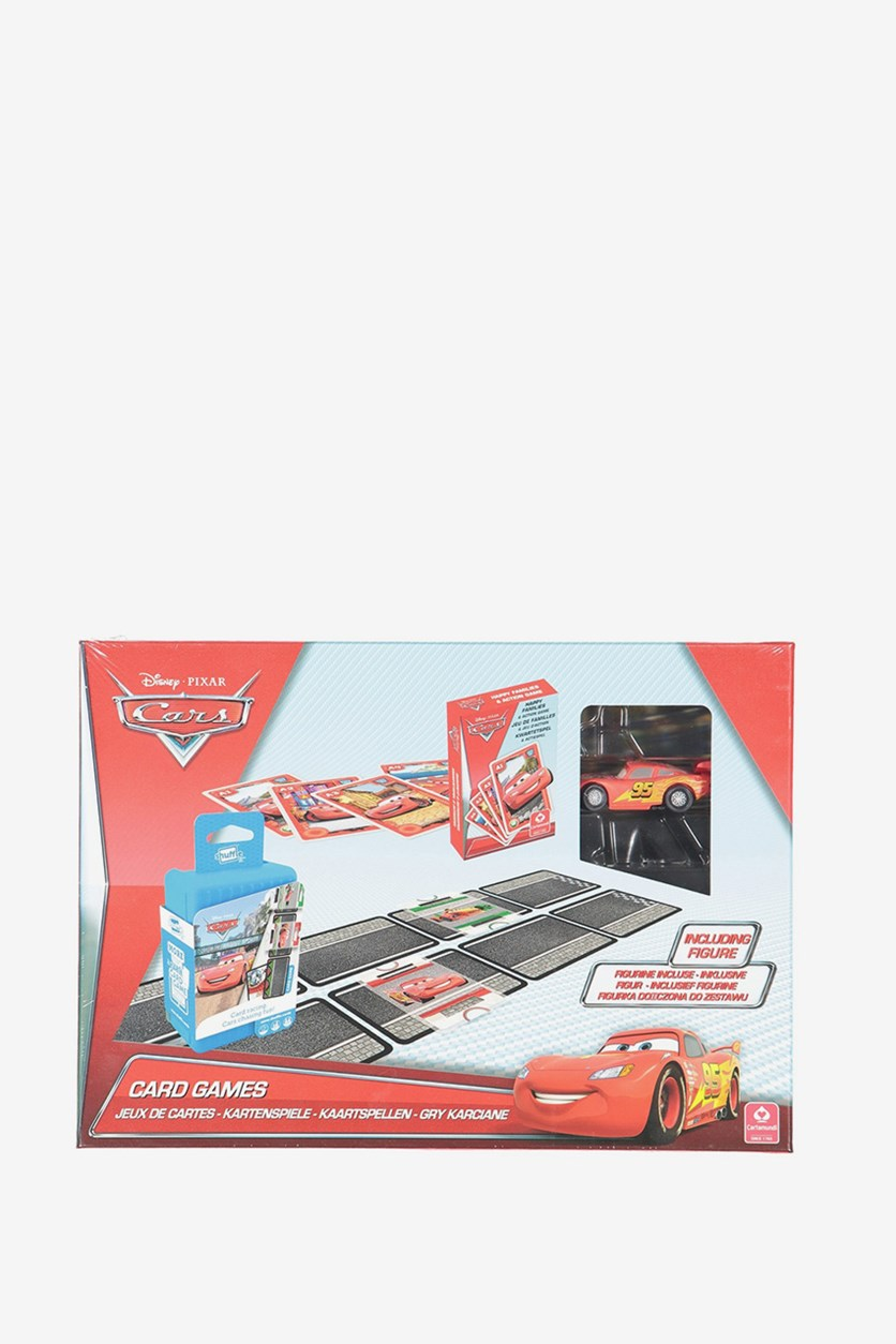 Pixar  Cars Card Games, Red