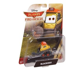 Mattel Disney Planes Fire and Rescue Blackout Die-cast Vehicle, Yellow