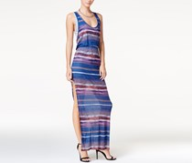 Chelsea Sky Layered Maxi Dress, Dark Multi