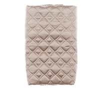 Hudson Park Candela Quilted Standard PillowSham,Taupe