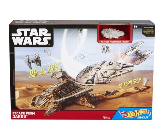 Hot Wheels Star Wars Starship Driver Playset