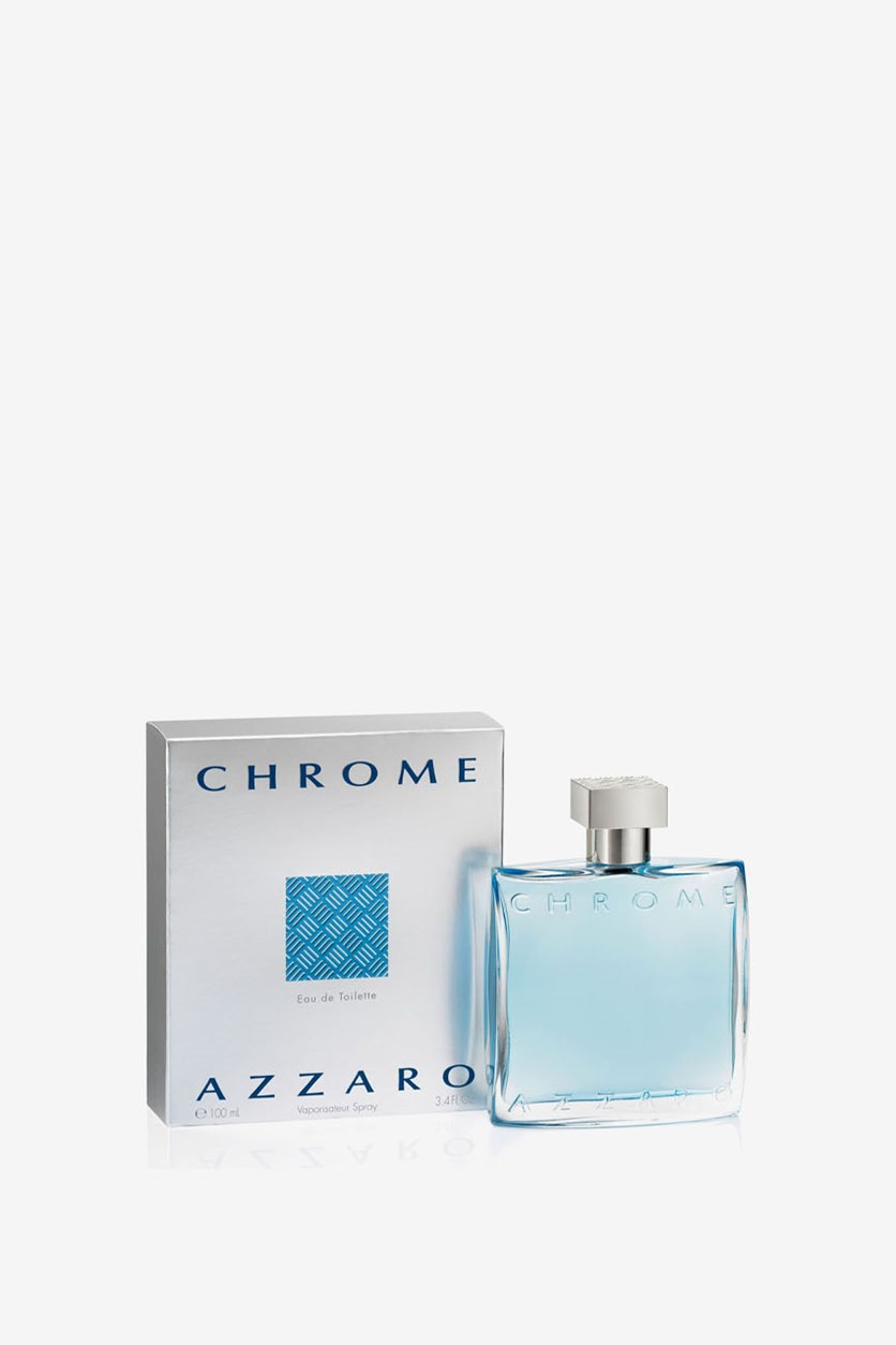 Chrome by Azzaro Eau de Toilette Spray for men, 3.4 oz