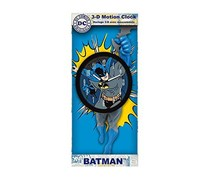 DC Comics Batman 3-D Motion Clock, Blue