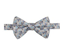 Men's Phillipo Floral Pre-Tied Bow Tie, Grey