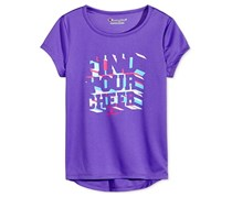 Champion Girls Find Your Cheer Graphic T-Shirt, Eclectic Purple