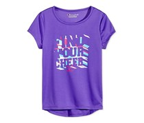 Champion Toddler Girls Find Your Cheer Graphic T-Shirt, Eclectic Purple