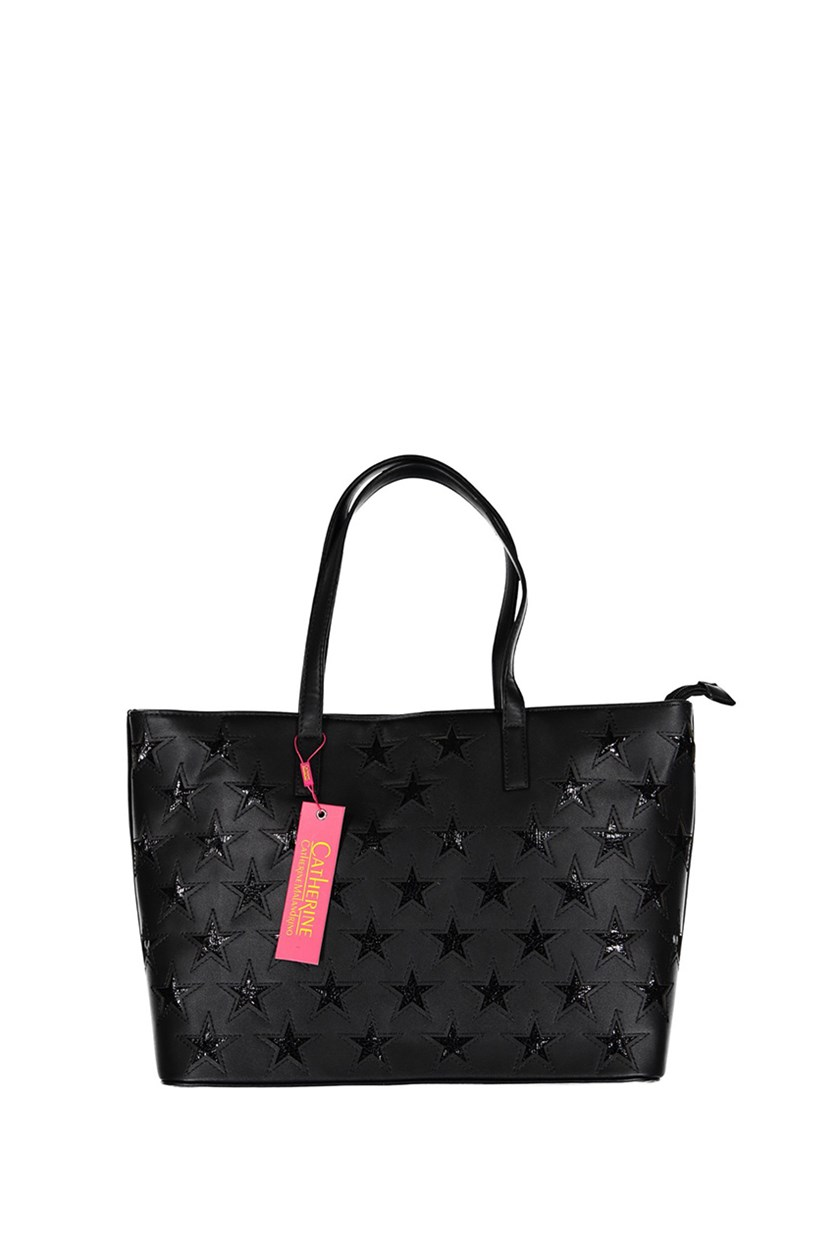 Karolina Tote Handbags, Black