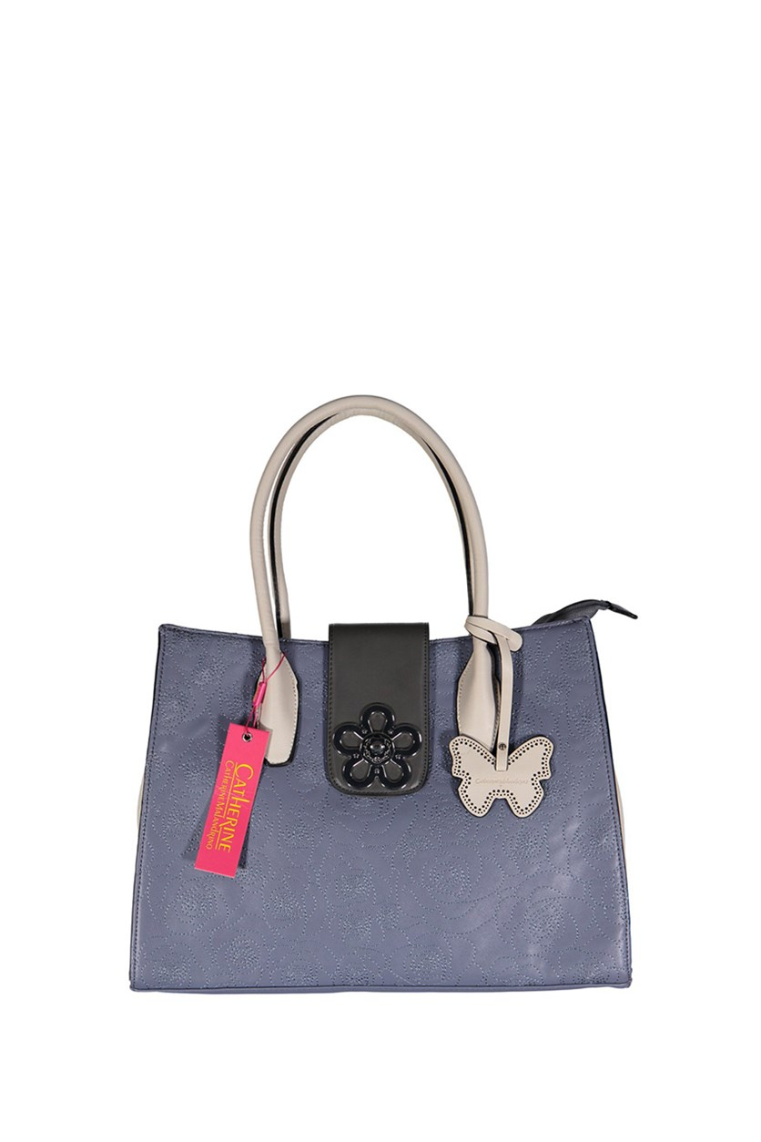 Hailey Tote Bags, Purple Grey