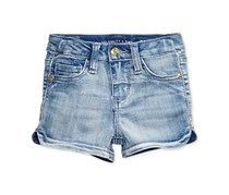 Celebrity Pink Denim Shorts, Blue